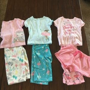 Set of 3 Carters PJ Sets - size 24 months